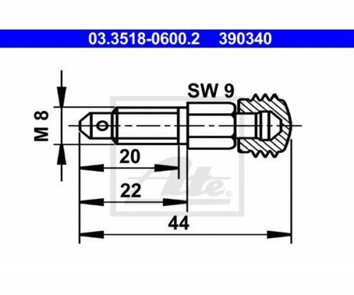 UAT entluefterventil Mercedes Benz 03.3518-0600 UAT 03.3518-0600.2
