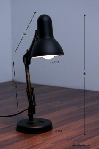 Bürolampe Schreibtischlampe Leselampe Leseleuchte Tischlampe Kinderzimmerschwarz