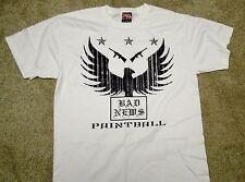 Bad News Paintball T-Shirt - White Medium