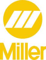 Miller Welder Tall Decal Sticker - Set Of 2 - Yellow
