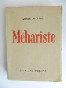 MÉHARISTE Louis ALIBERT éditions DELMAS 1945