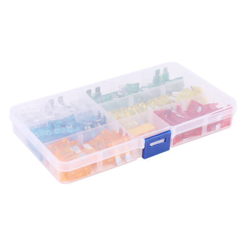Box of 120 Assorted Standard Blade Fuses 5-30 AMP Car Van Bike Truck Fuse Set UK