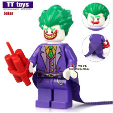 Joker Batman Movie custom minifigure Lego Fit  - TRUSTED UK SELLER