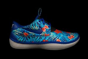d93bc305c804 NIKE SOLARSOFT MOCCASIN SP TROPICAL FLORAL Sz 6-11 OLD ROYAL MINT ...