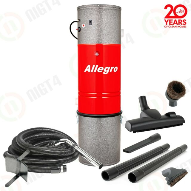 New - Allegro Central Vacuum System 35 Foot Hose Kit Built in Vac New in Box