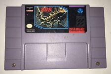 SOS Sink Or Swim Super Nintendo SNES Cartridge Cart Game S.O.S. Tested Working