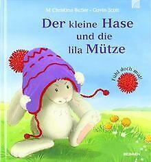 Der-kleine-Hase-und-die-lila-Muetze-Fuehl-doch-mal-von-M-Buch-Zustand-gut