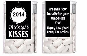 image is loading new years eve midnight kisses mint mints party