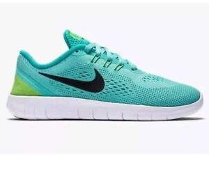 Image is loading Nike-Free-RN-GS-Shoes-833993-300-Turquoise-
