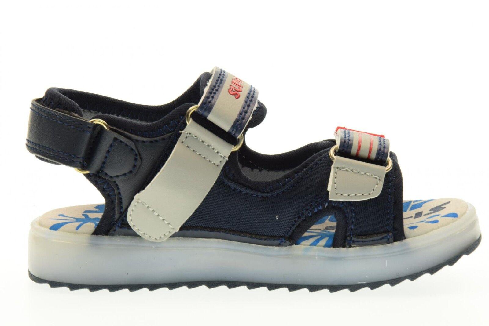 SuperJump Collezione America MARTIN scarpe bambino Sandale SJ2972 MARTIN America BLU P17 e8af86