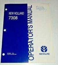 New Holland 7308 Loader Operators Manual 796 Nh Fits 15 20 25 30 Series Tractor
