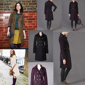 Boden Military Moleskin Coat Uk Sizes 6 Or 8 Uk New Rrp 119 Ebay