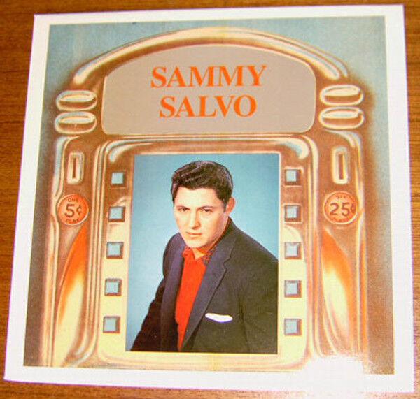 SAMMY SALVO - Here I go again! Teen LP!