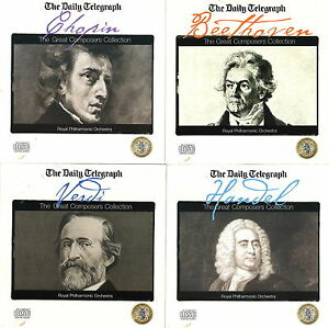 The-Great-Composers-Collection-Set-of-4-CD-039-s-Verdi-Chopin-Handel-amp-Beethoven