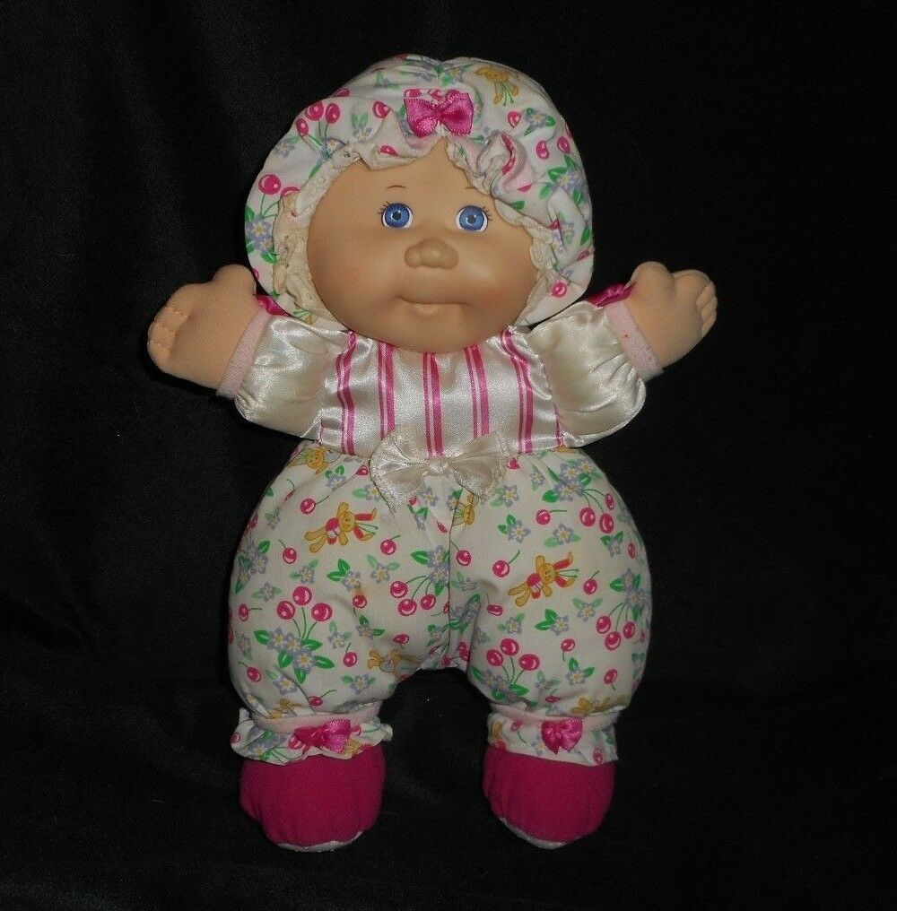 VINTAGE 1995 MATTEL MY FIRST CABBAGE PATCH KID RATTLE STUFFED ANIMAL PLUSH DOLL