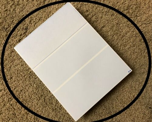 Check 21 Compliant HQ Check on Top Blue Marble 10 Blank Check Stock Paper