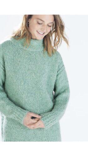 Detail High Zara Green Oversized Jumper Udsolgt S Bow Neck qWnanHPAzU