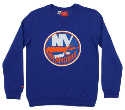 Reebok NHL Youth New York Islanders Prime Crew Neck Fleece Blue