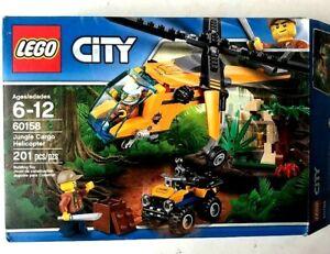 201 Piece LEGO City Jungle Explorers Jungle Cargo Helicopter 60158 Building Kit