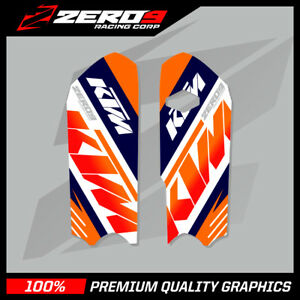 KTM-SX-85-2013-2017-LOWER-FORK-DECAL-MOTOCROSS-GRAPHICS-MX-GRAPHICS-TEAM-ISSUE