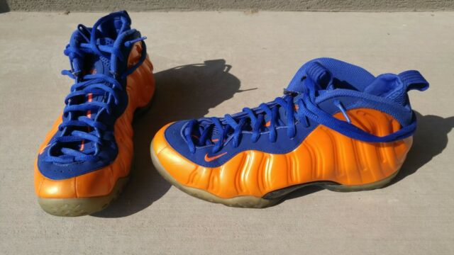 pretty nice fcbed 1ed2d Nike Air Foamposite One KNICKS Total Crimson Gamma Royal 314996-801 New  York 10