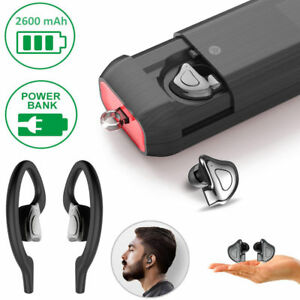 70dfe5edf5c Wireless Bluetooth 5.0 Mini Earbuds Sport True Bass Twins Stereo In ...