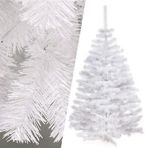 weihnachtsbaum k nstlicher christbaum tannenbaum kunstbaum dekobaum 150 cm wei ebay. Black Bedroom Furniture Sets. Home Design Ideas