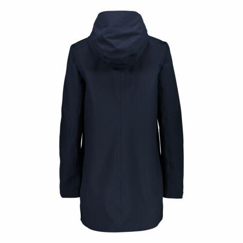 CMP Funktionsjacke Jacke WOMAN PARKA FIX HOOD dunkelblau wasserdicht Unifarben