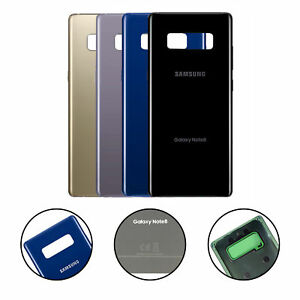 timeless design dd5c5 c80a8 Details about New Glass Battery Cover Rear Back Door For Samsung Galaxy  Note 8 N950 N950U