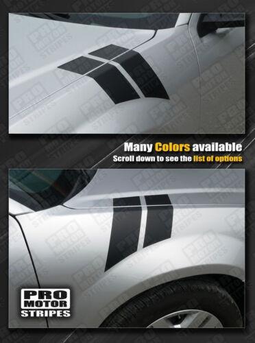 Dodge Avenger Fender Hash Side Stripes Decals 2008 2009 2010 Pro Motor