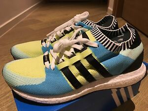 wholesale dealer fb9db fe45a Image is loading Adidas-EQT-Support-Ultra-PK-Frozen-Yellow-US-