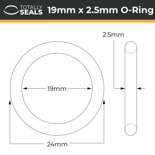 O-Anneaux-Silicone caoutchouc 55 A Métrique Seals VMQ OD 24 mm diamètre extérieur