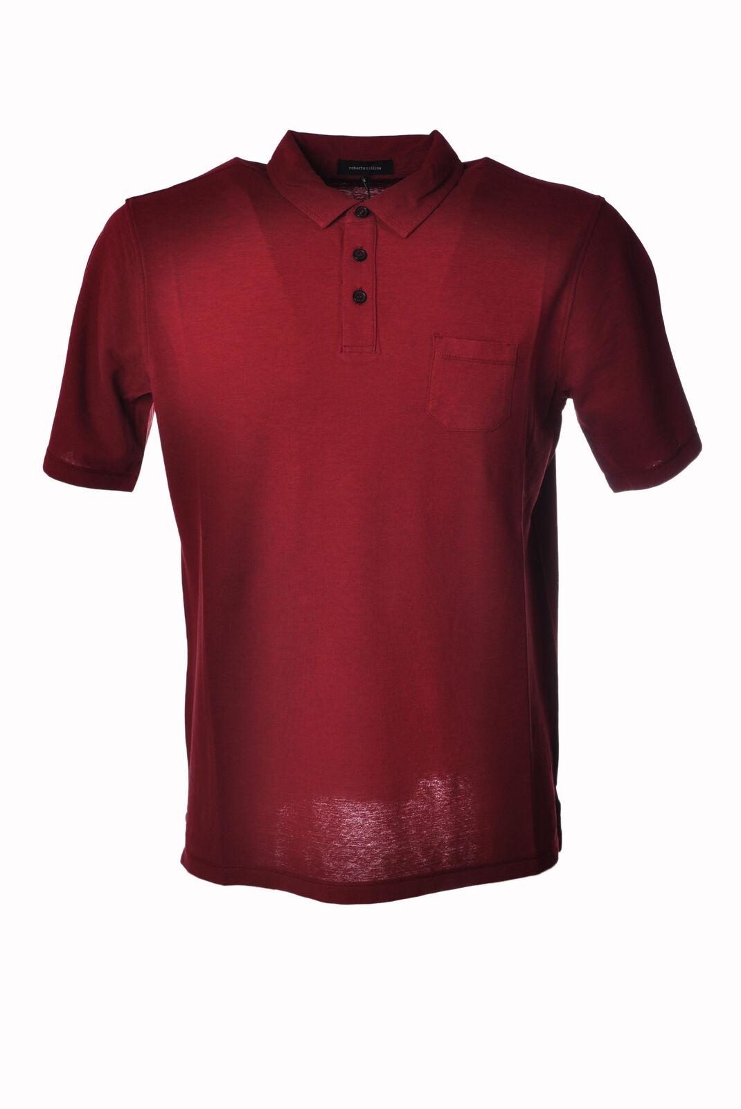 Roberto Collina  -  Polo - Männchen - red - 3214615A183838