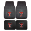 Texas-Tech-University-2pc-amp-4pc-Mat-Sets-Heavy-Duty-Cars-Trucks-SUVs thumbnail 1