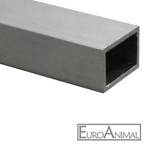 Aluminium Rechteckrohr 30x20 40x20 40x30 50x30 50x40 60x40 Alu