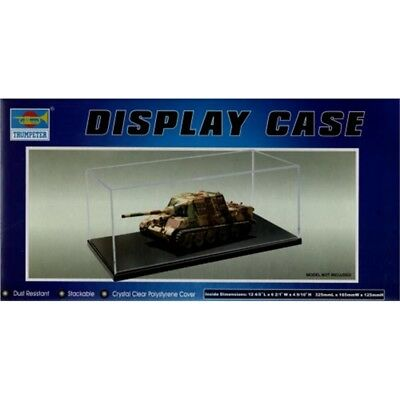 Trumpeter Display Case-X 118 Tru09814 cas 325 165 125 mm Convient échelle voiture