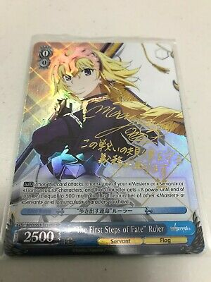 Fate//Apocrypha Ruler Part.2 Card Sleeve Bushiroad Magic Weiss