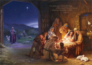Religious Christmas Cards.Details About Light Of The World Mark Missman Box Of 16 Religious Christmas Cards
