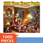 Merry Christmas Gifts 1000 Piece Puzzle Large Jigsaw Puzzle For Adult Children