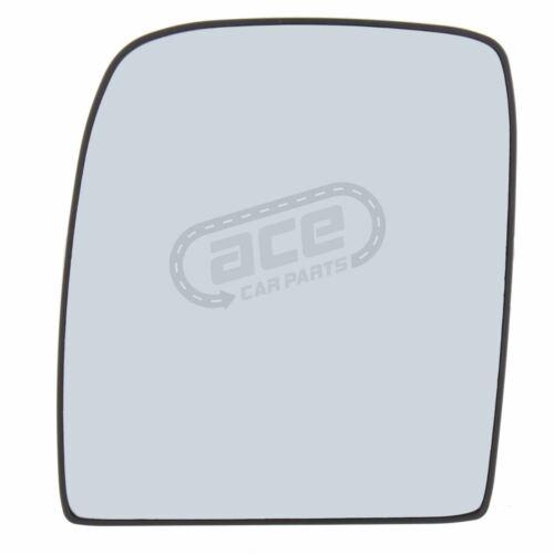 Peugeot Expert van 2007-2016 no Climatizada Convexo Cristal de espejo de doble lado pasajero