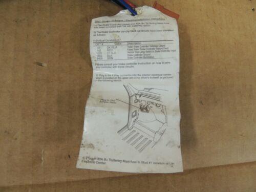 Chevy Silverado ELECTRIC BRAKE CONTROL WIRING HARNESS ADAPTER 23184088 GENUINE