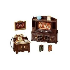 SYLVANIAN FAMILIES CLASSIC BROWN WRITING DESK CALICO CRITTERS EXHIBITION VERSION