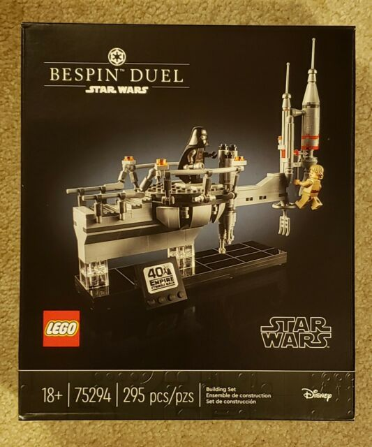 New LEGO Star Wars Bespin Duel Building Kit (75294)