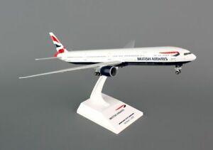 SKYMARKS (SKR661) BRITISH AIRWAYS 777-300ER 1:200 SCALE PLASTIC SNAPFIT MODEL