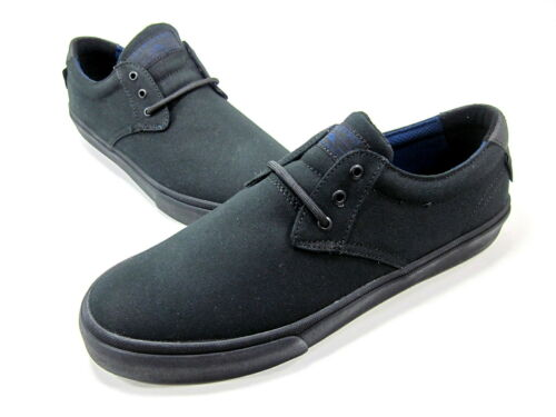 NEW LAKAI MENS BLACK//BLACK US Size 9 Medium MJ SPORT SHOE CANVAS