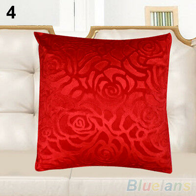 SALE! FLORAL PILLOW CASE SQUARE CUSHION COVER SHELL HOME DECOR CANDY COLOR