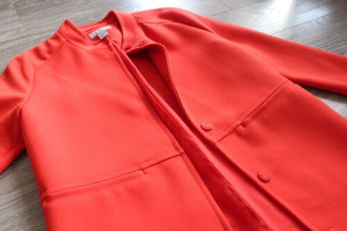 Pocket Welt Med Mandarin Collarcoat Coral EqIwOxtw