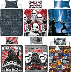 Official-Star-Wars-Licensed-Duvet-Covers-Single-Double-Jedi-Darth-Vader-Lego
