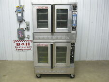 Blodgett Gas Double Stack Convection Oven Dfg 100 3 Top With Vision Fastron Arbys