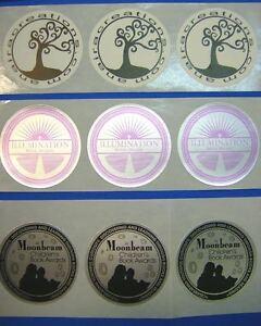 custom printed round stickers